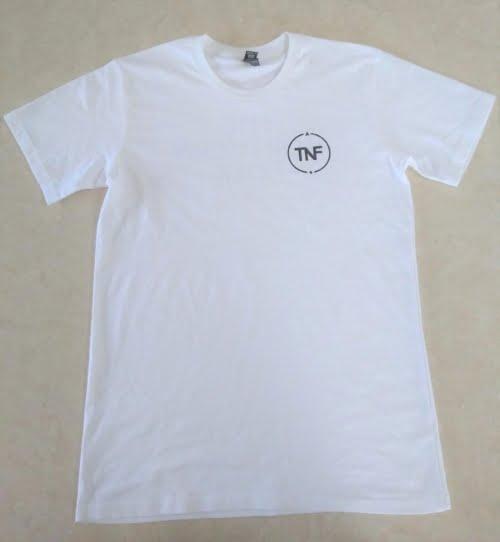 TNF White T-Shirt (Front)