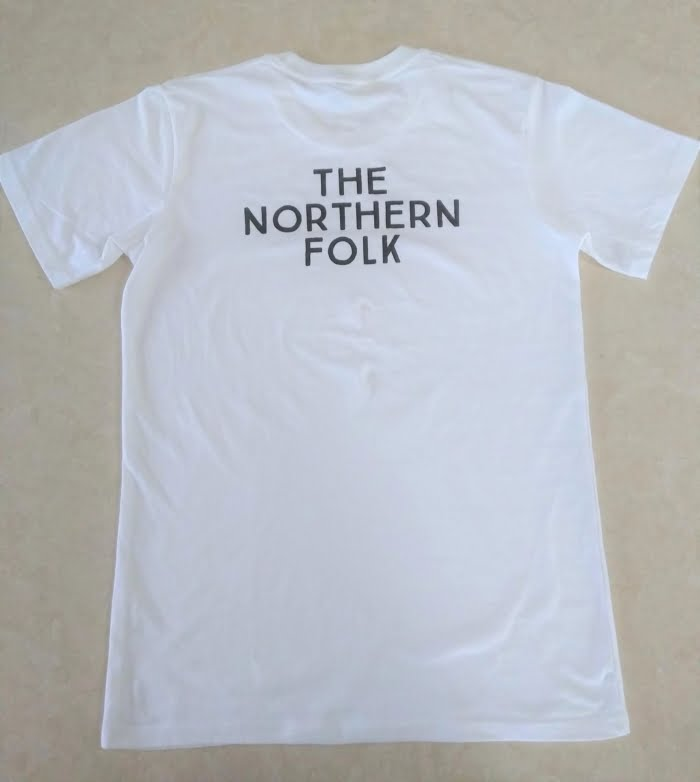 TNF White T-Shirt (Back)