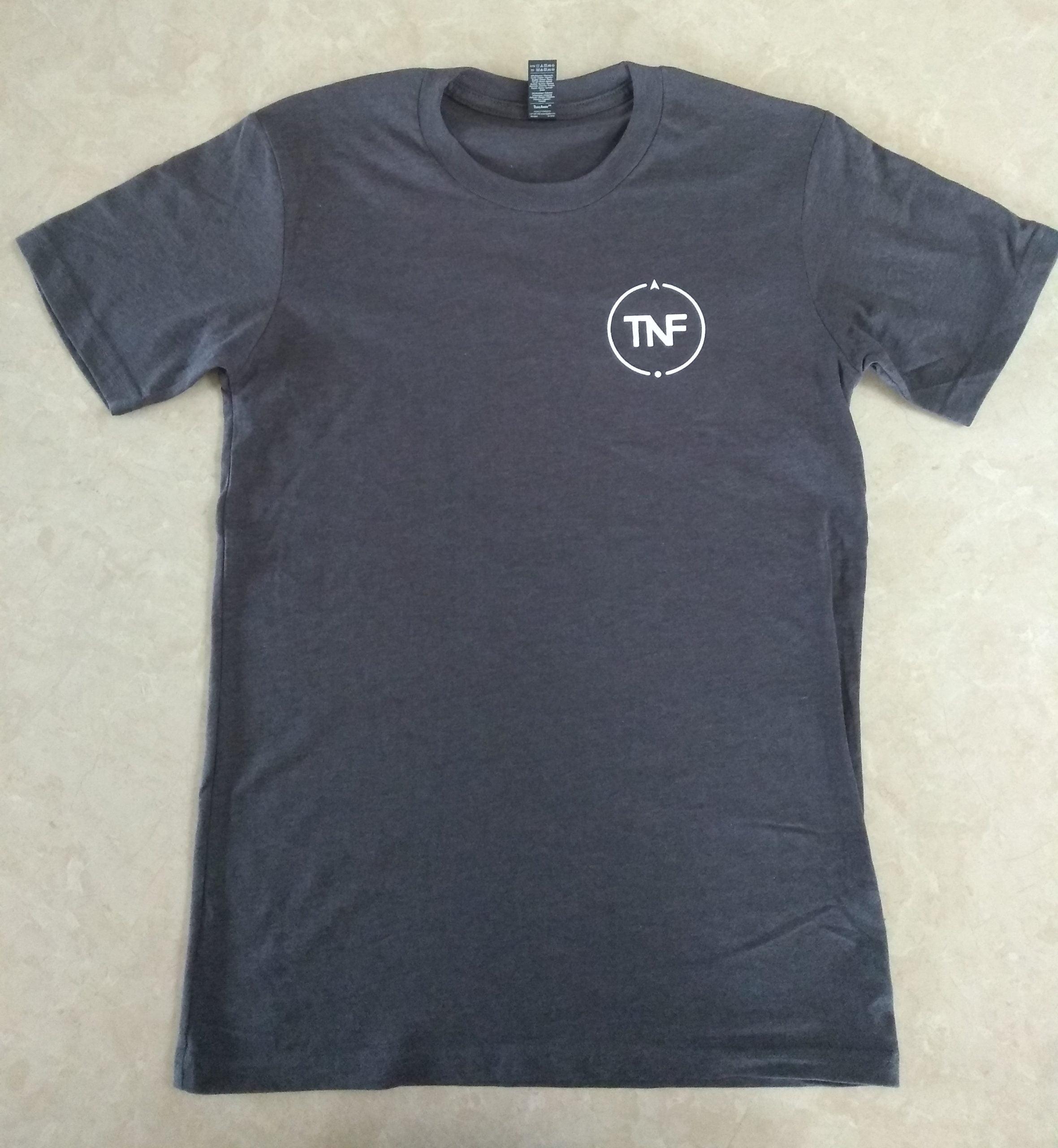 TNF Grey T-Shirt (Front)