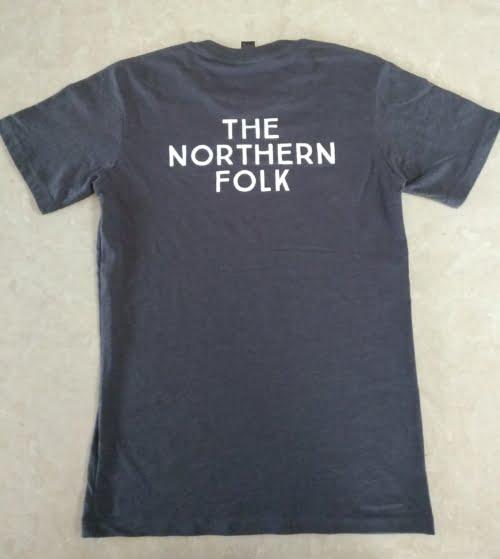 TNF Grey T-Shirt (Back)