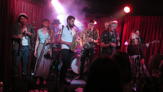 The Northern Folk - Brighton Up Bar, Sydney (credit: Laura Roberts)